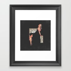 Pinup 1 Framed Art Print