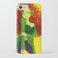 poison ivy iPhone & iPod Cases featuring poison ivy by squeegool