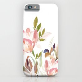 Darling Blooms iPhone Case