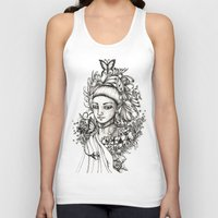 fairy Tank Tops featuring Fairy by Anca Chelaru