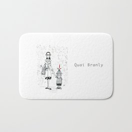 A Few Parisians by David Cessac: Quai Branly Bath Mat