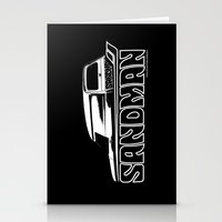 sandman Stationery Cards featuring Holden Sandman Panel Van by Blulime