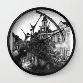 Waterside Wall Clock