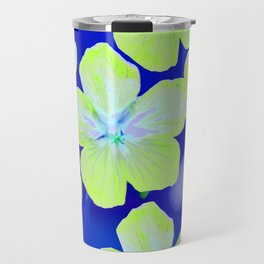 Retro Flowers II #decor #society6 Travel Mug