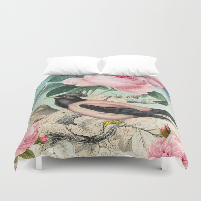 Vintage birds #3 Duvet Cover