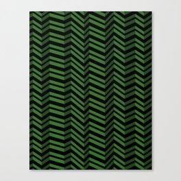 Wobble Zags Canvas Print