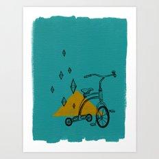 confidant I. (tricycle) Art Print