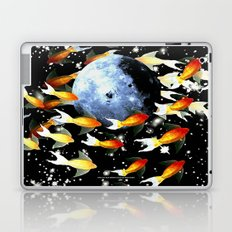 ONCE IN A BLUE MOON 009 Laptop & iPad Skin