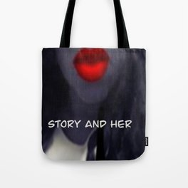 Story and Her Merchandise Tote Bag