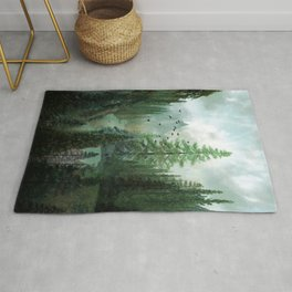 Mountain Morning 2 Rug