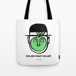 You Are What You Art Tote Bag