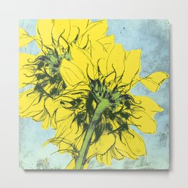 The sunflowers moment Metal Print