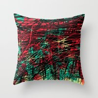 birthday Throw Pillows featuring Birthday  by DizzyNicky