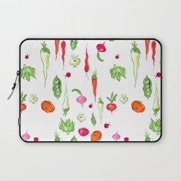 Veggie Party Pattern Laptop Sleeve