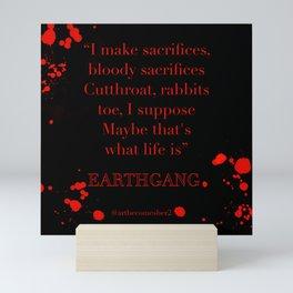 Bloody Sacrifices Mini Art Print