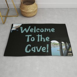 Welcome to the Cave! Rug