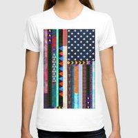 boho T-shirts featuring Boho America by Schatzi Brown