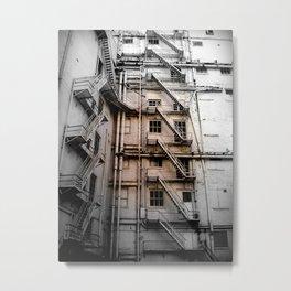 The stair venture Metal Print