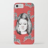tenenbaum iPhone & iPod Cases featuring Margot Tenenbaum by Ester Dus