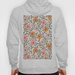 70s Floral Theme Hoody