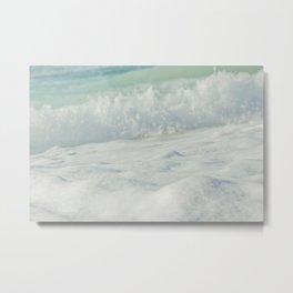 Sea Foam - Ocean Medley Metal Print