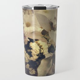 Flowers of Nostalgia Travel Mug