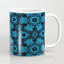 Black and Blue String Art 4406 Coffee Mug