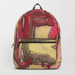 Ice Cream and Cigarettes Modern Abstract Fine Art Backpack