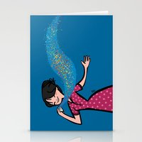 perfume Stationery Cards featuring Perfume by Bea Blanco