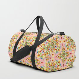Pink Confetti Duffle Bag