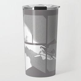 ROCKIT (White on Grey) Travel Mug