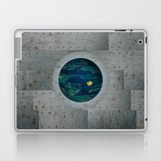 Through the Looking Glass Laptop & iPad Skin