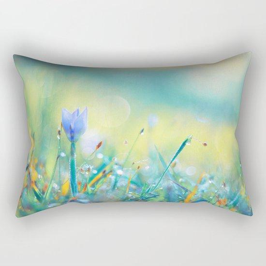 The Lady of Sun Rectangular Pillow