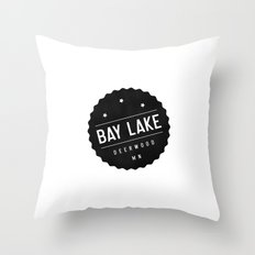 BAY LAKE Throw Pillow