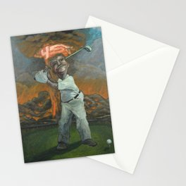 Golfin with Donny Stationery Cards