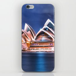opera house in sydney iPhone Skin