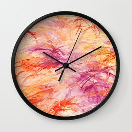 """Out Burst"" - Karla Leigh Wood Wall Clock"