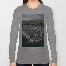 Flood Resilient Townscape - Par Docks Long Sleeve T-shirt