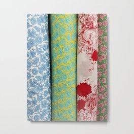 Bolt-Wallpaper Metal Print