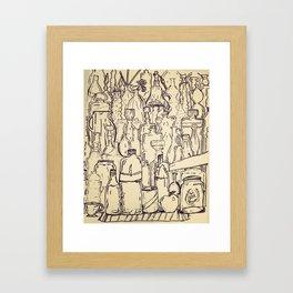 Glass Abundance  Framed Art Print