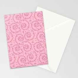 Music Pattern | Note Instrument Musical Listening Stationery Cards