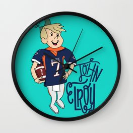 John Elroy Wall Clock