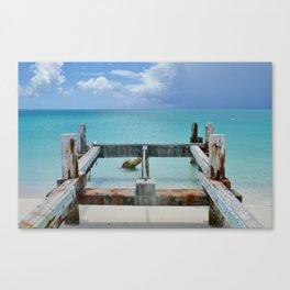 Dockless Dock Canvas Print