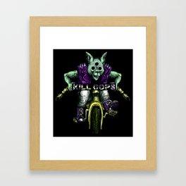 Trikewolf II Framed Art Print
