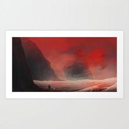 Red Planet Kunstdrucke