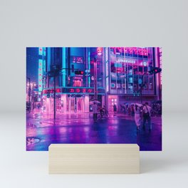 Neon Nostalgia Mini Art Print