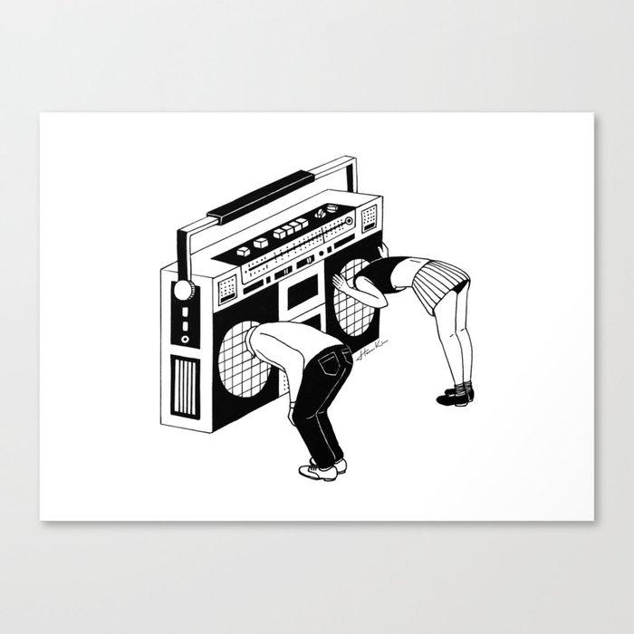 Radiohead Canvas Print