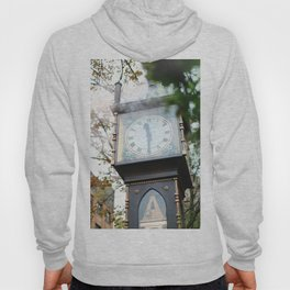 357. Gastown Steam Clock and Smoke, Vancouver, Canada Hoody