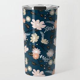 Marseille - Floral Pattern Travel Mug