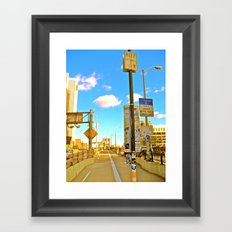 Under Surveillance Framed Art Print